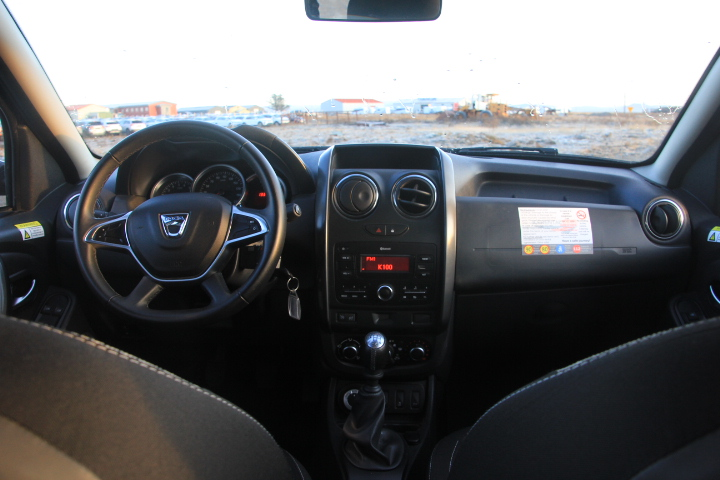 Dacia Duster 2017 model interior