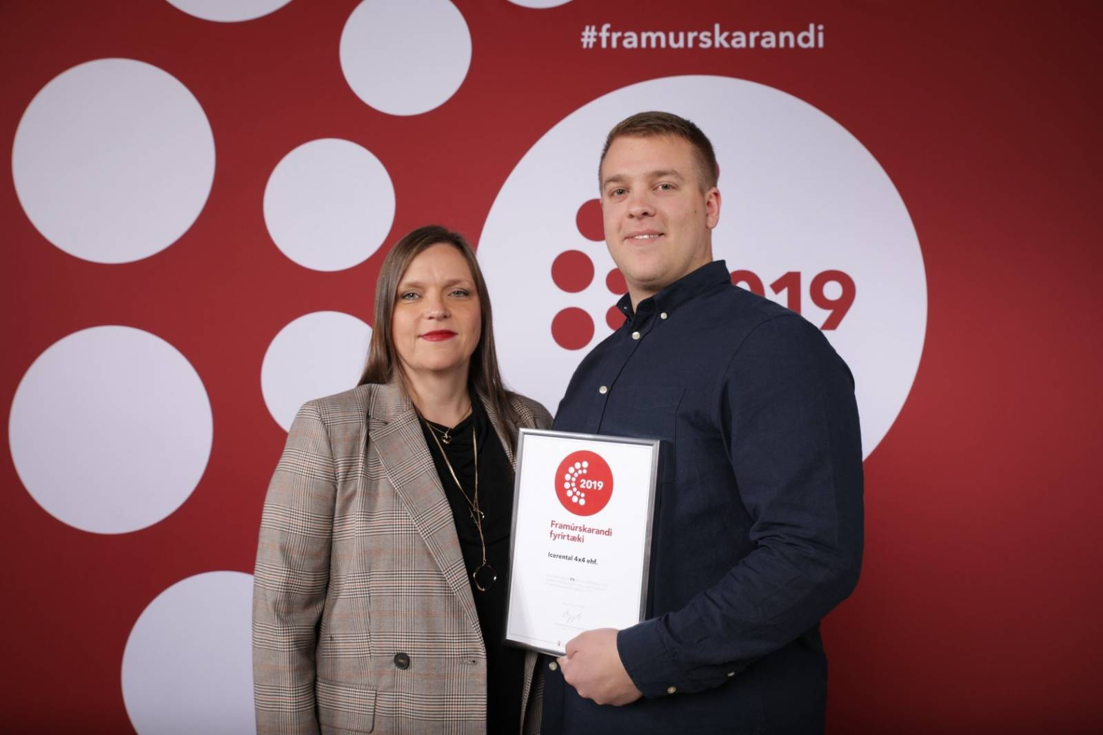 Icerental4x4 Stongest in Iceland award