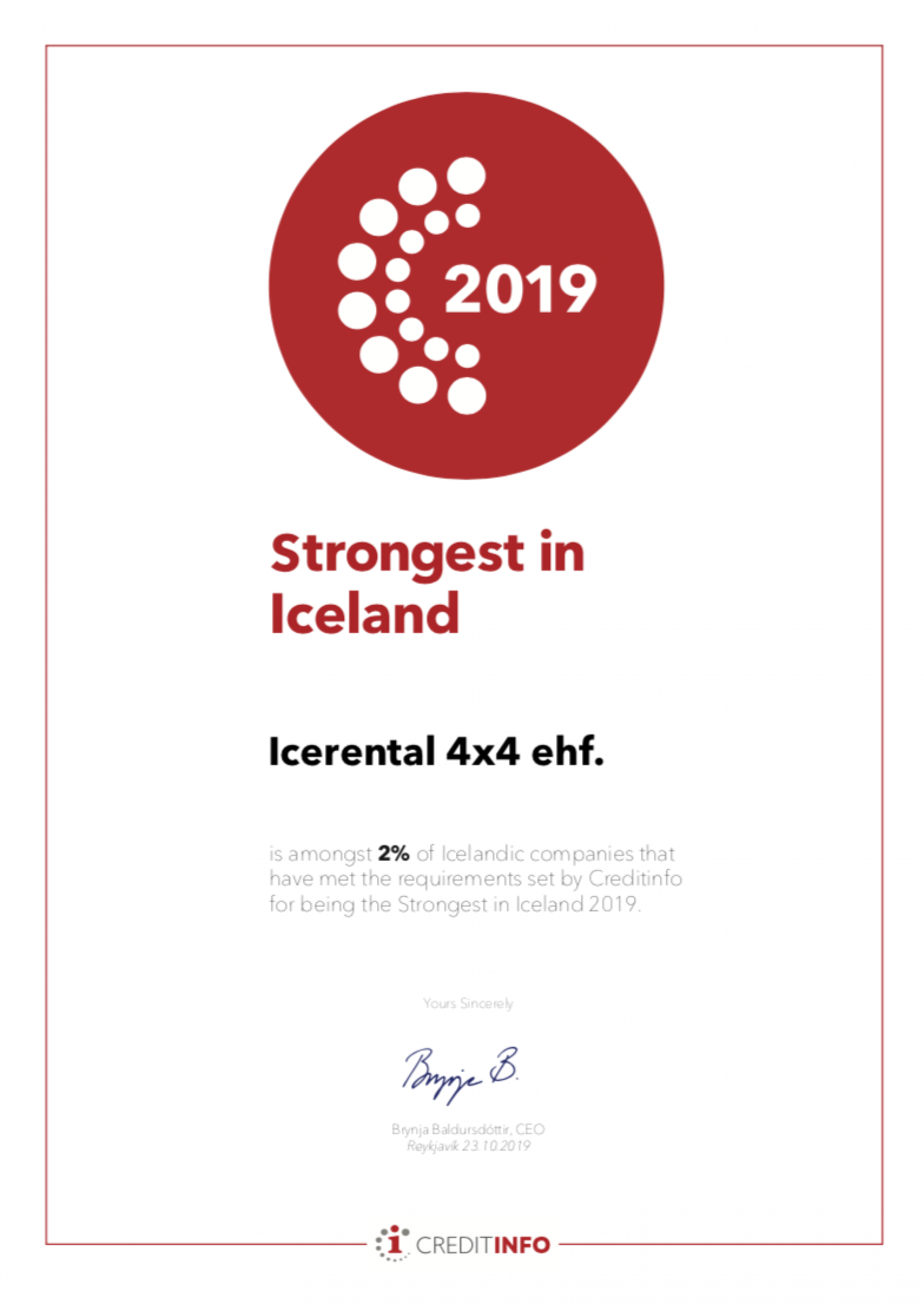 Strongest in Iceland Icerental4x4