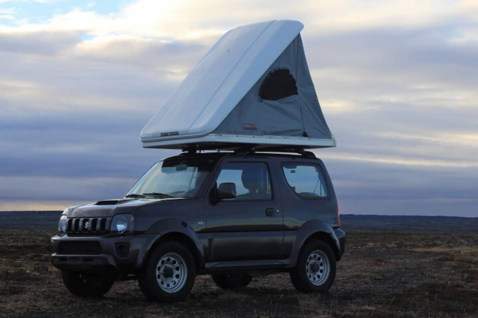 Suzuki Jimny with Roof Tent