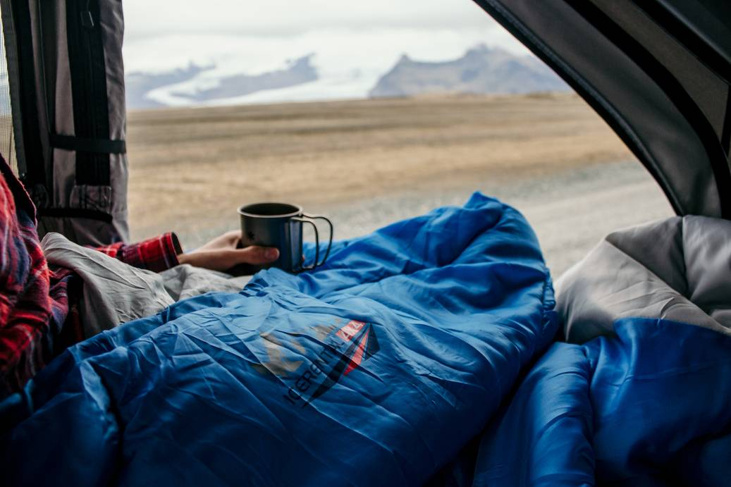 roof tent with a view