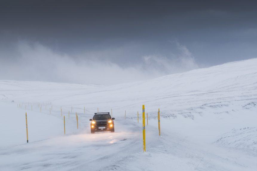 icelandic winter driving